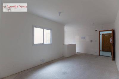 Cobertura Com 3 Dormitórios À Venda, 126 M² Por R$ 360.000 - Vila Curuçá - Santo André/sp - Co0055