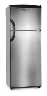 Heladera Columbia Acero 414lts A+ Con Freezer Chda 43/7