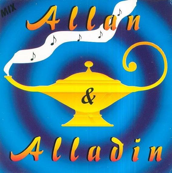 Cd - Alan E Aladim - Mix (muito Raro)