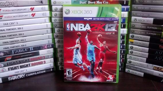 Jogo Nba 2k 13 Original P/ Xbox 360 Frete 12