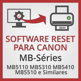 Software De Ajustes E Reset Para Canon Mb5110 E Similares