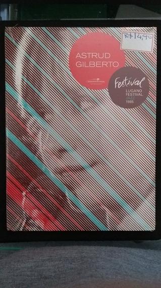 Dvd - Astrud Gilberto - Festival Lugano Festival Jazz 1985