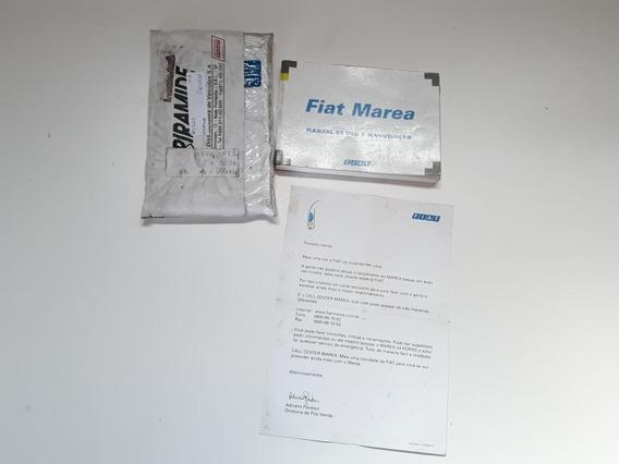 Manual Proprietário Fiat Marea Sx 99 Orig Perfeito