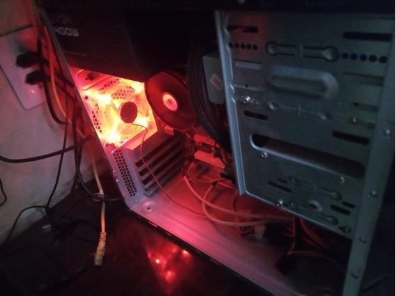 Pc Gamer Core2quad Q9500, 6gb Ram Ddr3, Fonte Evga 400w