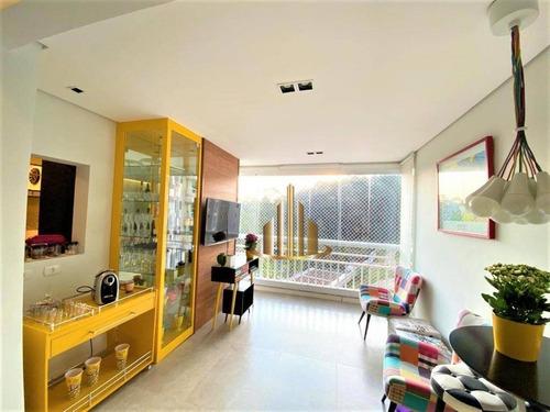 Apartamento Com 3 Dormitórios Sendo 2 Suítes  À Venda, 123 M² Por R$ 1.000.000 - Tamboré - Barueri/sp - Ap1368