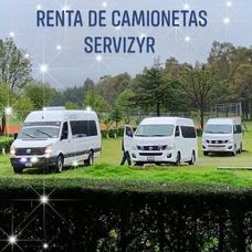 Renta Camionetas En Toluca De 4 A 20 Pasajeros Con Chofer