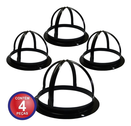 4 Grades De Proteção Câmera Dome De Segurança Cftv