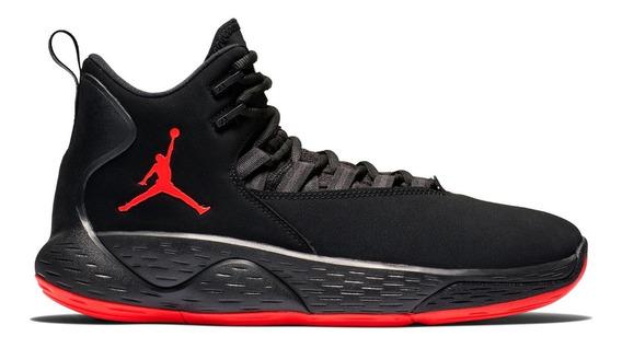Zapatillas Jordan Basquet Nike Originales Negro Rojo Nba Mejor Jugador