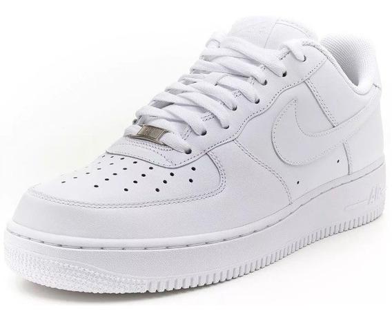 Tenis Zapatillas Nike Air Force One 1 Importadas 100% Cuero