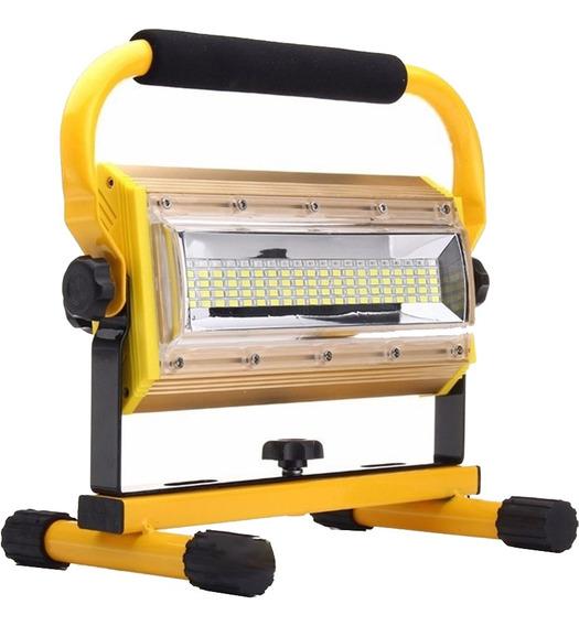 Lanterna Holofote Led Recarregavel 100 W Gt595 Lorben