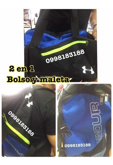 Bolso Deportivo 55 X 27 Modelo 2 En 1 Mano/espalda