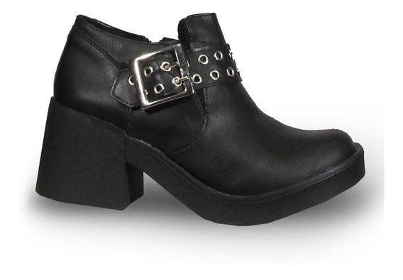 Coral 520 Zapato Taco Plataforma Moda Mujer