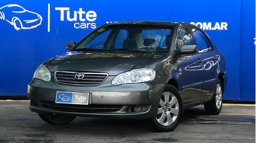 Imagen 1 de 15 de Toyota Corolla 1.8 Xei Mt Año 2007 Gris - Tute Cars W