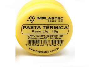 10-pasta Térmica Bisnaga 15 Pc Ps2/3 Xbox360 Implastec