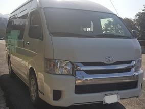 Renta De Camionetas Toyota Hice 12 Y 15 Pasajeros Cdmx