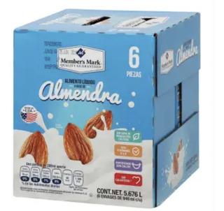 Bebida De Almendras Member