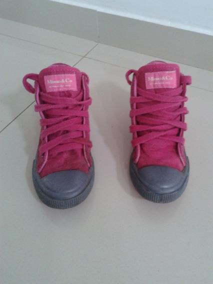 Zapatillas Tipo Botas De Nena T32 Mimo&co