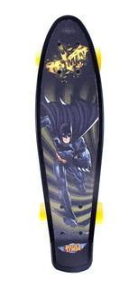 Skate Cruiser Liga Da Justiça - Batman Bel Sports
