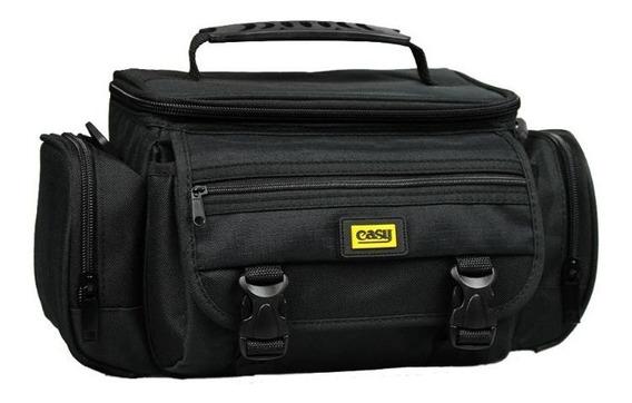Bolsa Case Bag Capa Compacta P/ Camera Dslr Canon Nikon Sony