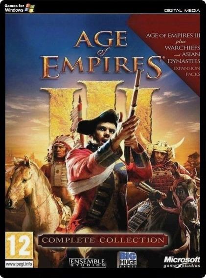 Age Of Empire 3 + Expansões [legendado][pc] Envio Digital