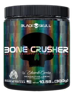 Pre Treino Bone Crusher 300g - Black Skull - Promoção