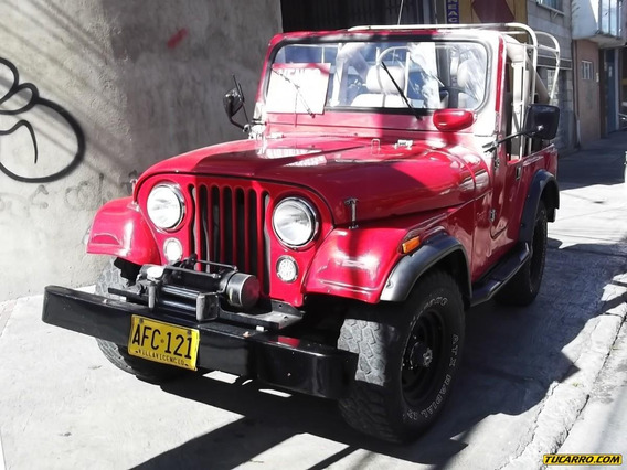 Jeep Willys Campero 2200cc