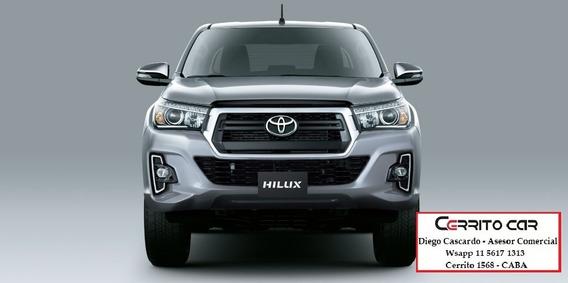 Toyota Hilux 2.8 Cd Srv 177cv 4x4 2019 0km Entrega Ya!!!