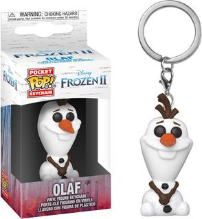 Llavero Funko Pop Disney Frozen 2 Olaf Nuevo Original