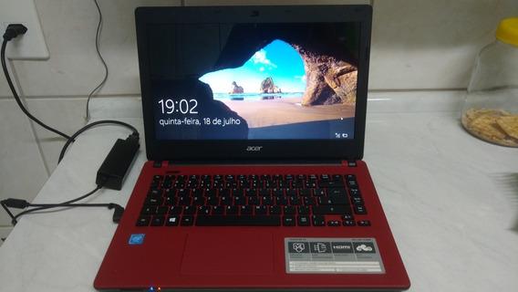 Notebook Acer Es1-431-c3w6 Semi Novo.