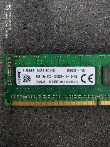 Memoria  8gb 1rx4 Pc3-12800r Ddr3 Ecc Registrado