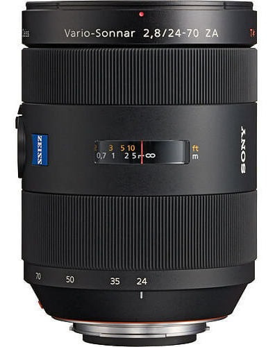 Lente Sony 24-70mm F/2.8 Carl Zeiss T* Standard Zoom A-mount