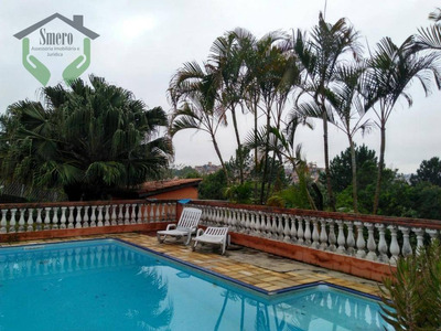 Chácara Com 3 Dormitórios À Venda, 2000 M² Por R$ 1.600.000 - Chácara Vale Do Rio Cotia - Carapicuíba/sp - Ch0007