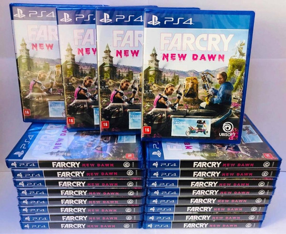 Far Cry New Dawn Ps4 Mídia Física Envio Na Hora