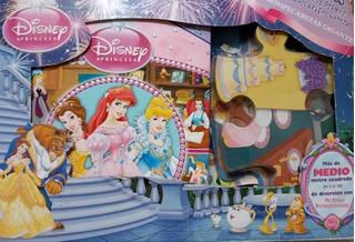 Rompecabezas Gigante Con Libro De Disney