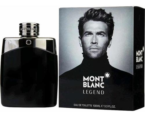 Perfume Mont Blanc Legend 100ml Hombre - mL a $1850