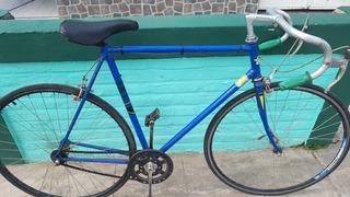 Bicicleta De Carrera, Antigua, Andando