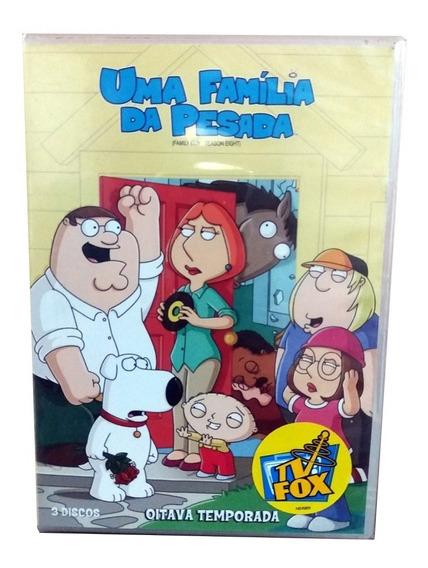 Seriado Uma Familia Da Pesada 8ª Temporada 3 Discos Dvd