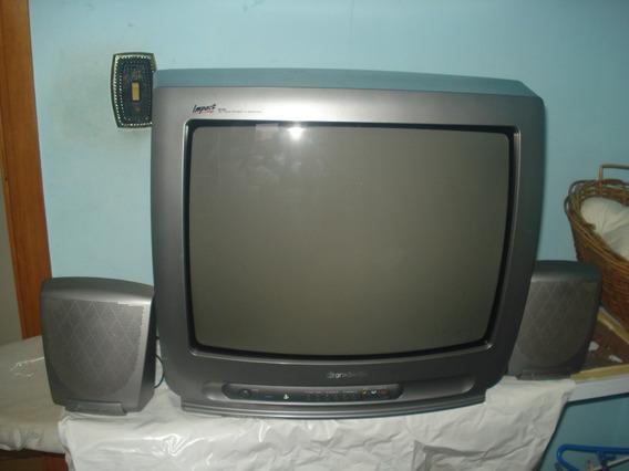 Tv- Gradiente Impact Mod. M20 True Stereo - Funcionando