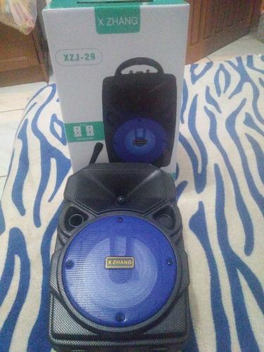 Caixa De Som Via Bluetooth Com Microfone