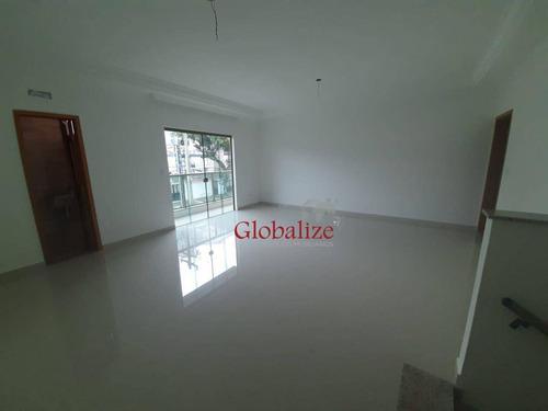 Imagem 1 de 24 de Casa Com 3 Dormitórios À Venda, 140 M² Por R$ 910.000,00 - Aparecida - Santos/sp - Ca0118