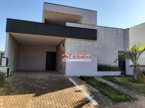 Casa Com 3 Dormitórios À Venda, 178 M² Por R$ 1.150.000 - Residencial Club Portinari - Paulínia/sp - Ca1914