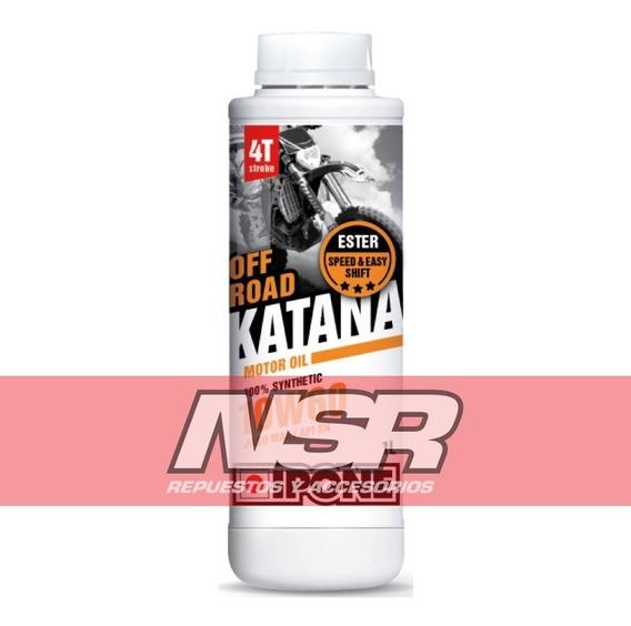 Aceite Ipone Katana Off Road 10w60 100% Sintetico Nsr Motos
