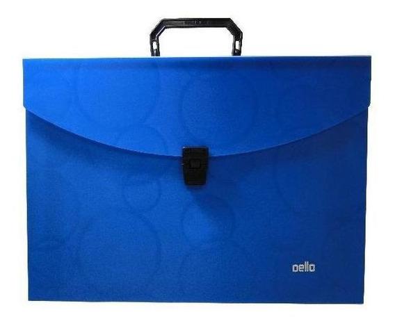 Maleta Slim Delloplast- Azul Com6 Pts.susp.delokraft