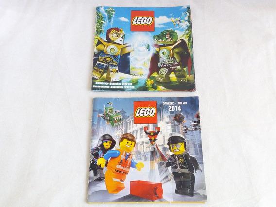Catalogos Lego 2013 E 2014 ( Os Dois )