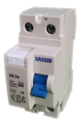 Diferenciales Autorizados, Sassin - 25 A - En 4.5 Ka