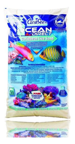Substrato Ocean Direct Live Caribsea 9kg Original