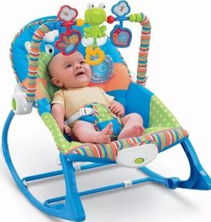 Silla Mecedora Para Bebé De 0 A 5 Años Musical Vibración