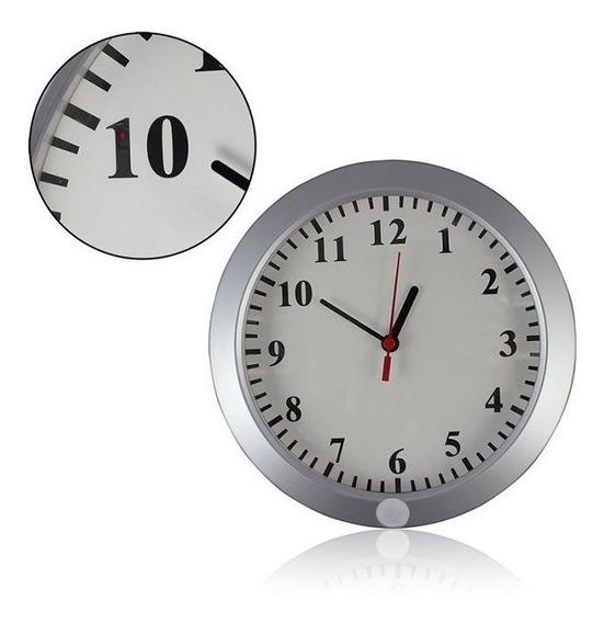 Cámara Oculta Reloj Espía Wifi 1080 Hd Seguridad En La Pared