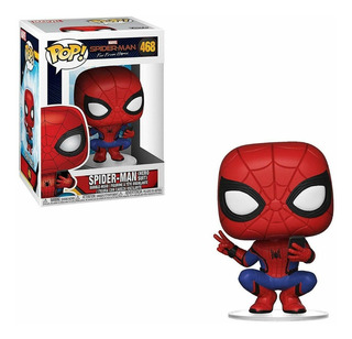 Funko Pop Far From Home Spiderman 468 Nuevo Original