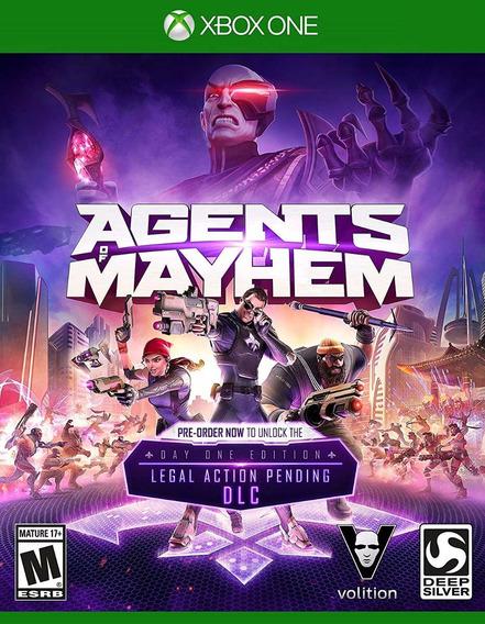 Agents Of Mayhem - Xbox One - Frete Grátis!